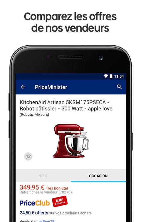 Android Priceminister-Rakuten shopping Screen 2