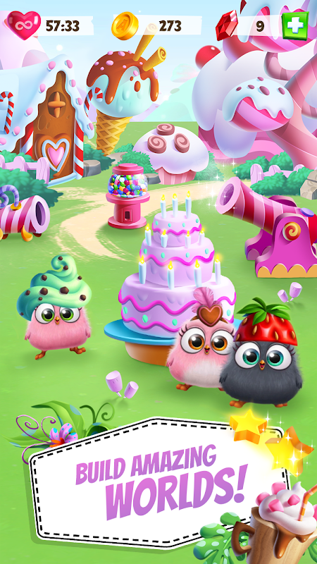 Android Angry Birds Match Screen 4