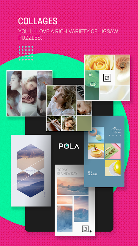 Android POLA Camera - Beauty Selfie, Clone Camera& Collage Screen 7