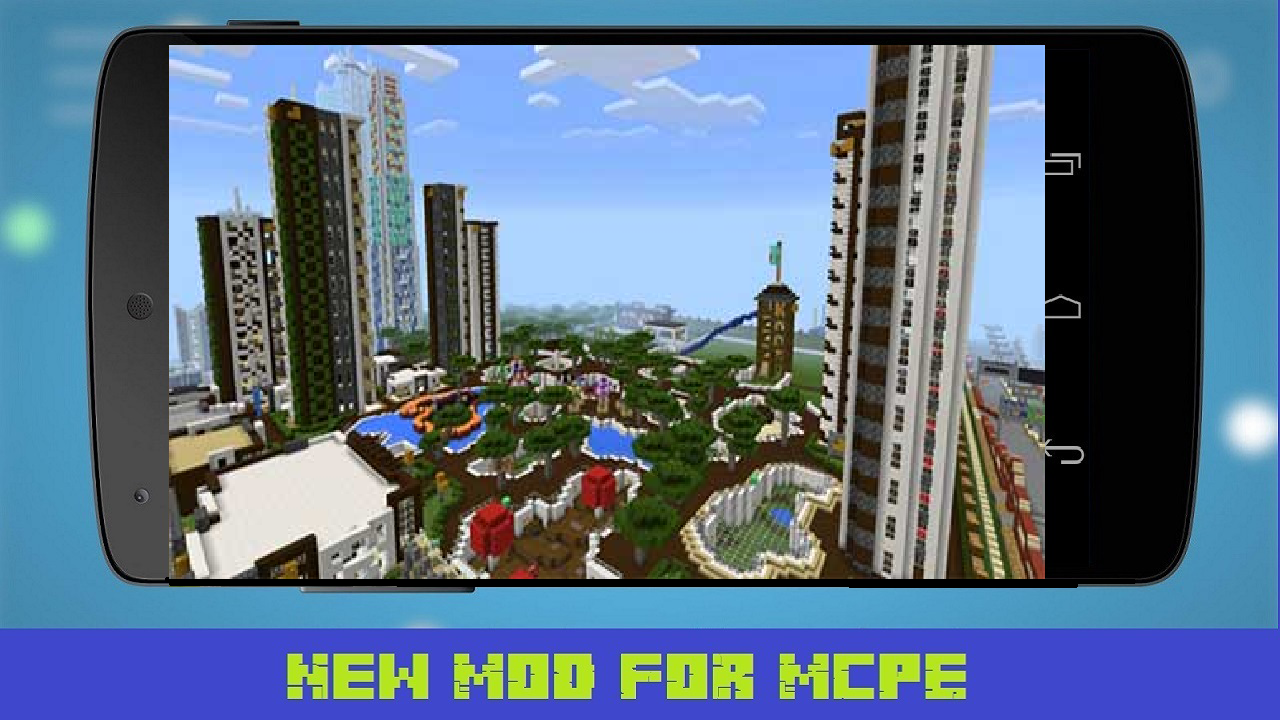 Android Giant City Map for MCPE Screen 2