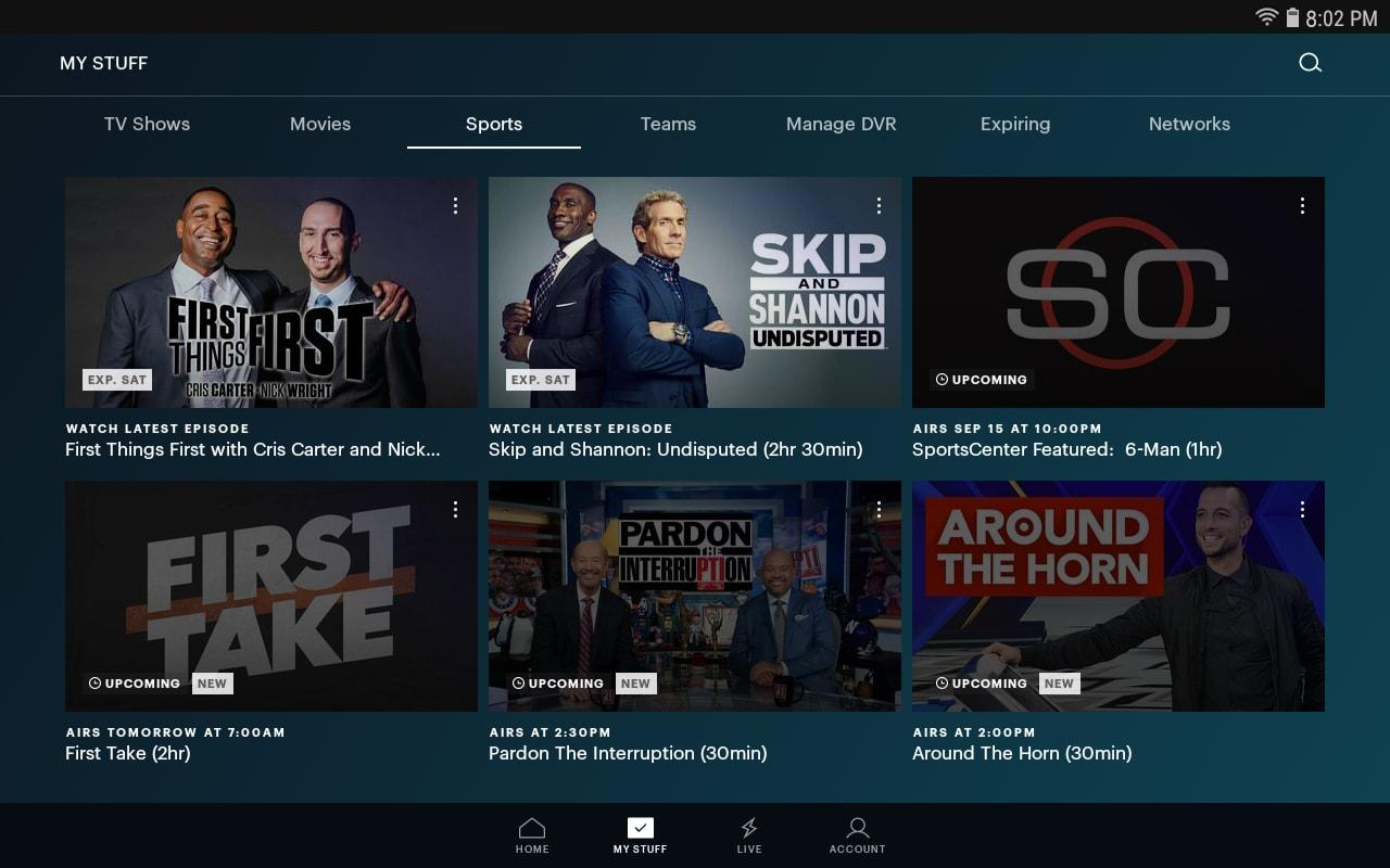 Hulu: Stream TV, Movies & more 3.63.0.307840 Screen 3