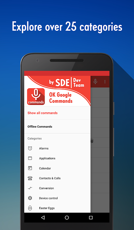 OK Google Voice Commands (Guide) 4.2.000 Screen 2