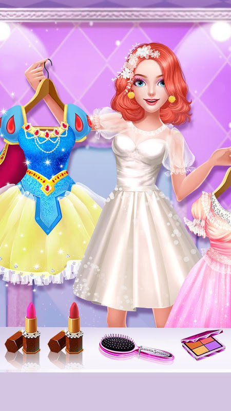 Cinderella Fashion Salon - Makeup & Dress Up 2.2.3967 Screen 1