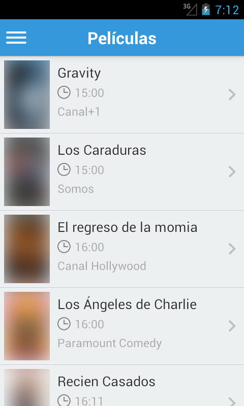 Android Spanish Television Guide Free Screen 1