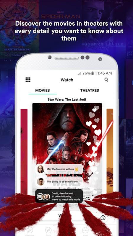 Sinemia 3.5.1 Screen 1