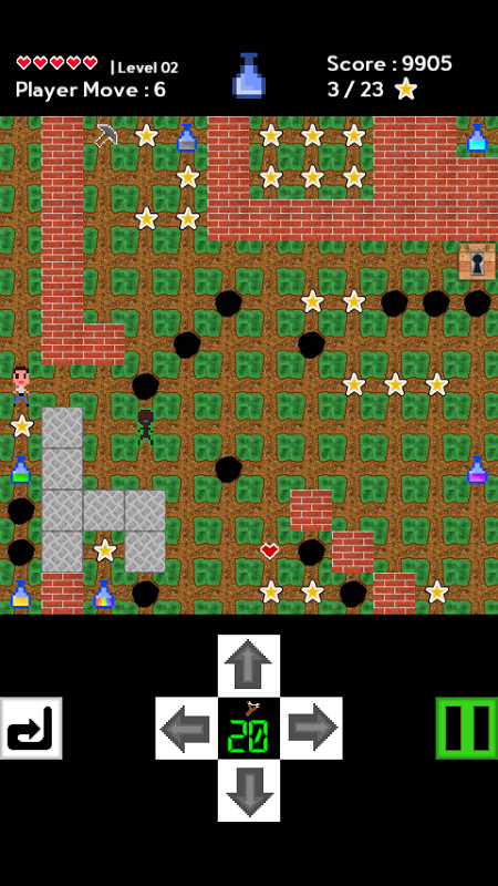Android World of Potion Screen 2