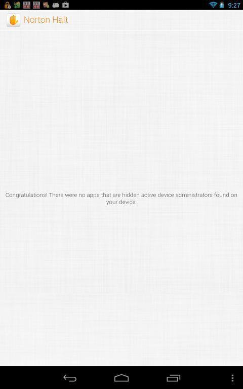 Norton Halt 5.6.0.173 Screen 8