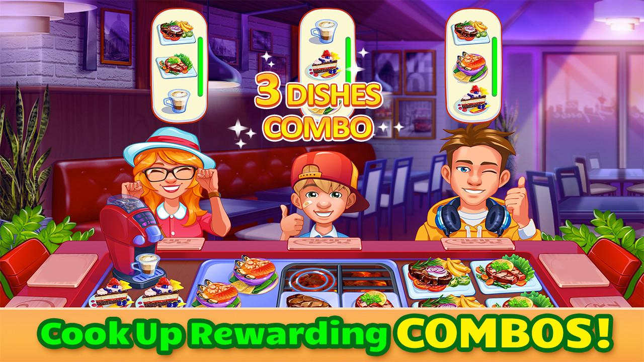 Android Cooking Craze - A Fast & Fun Restaurant Chef Game Screen 1