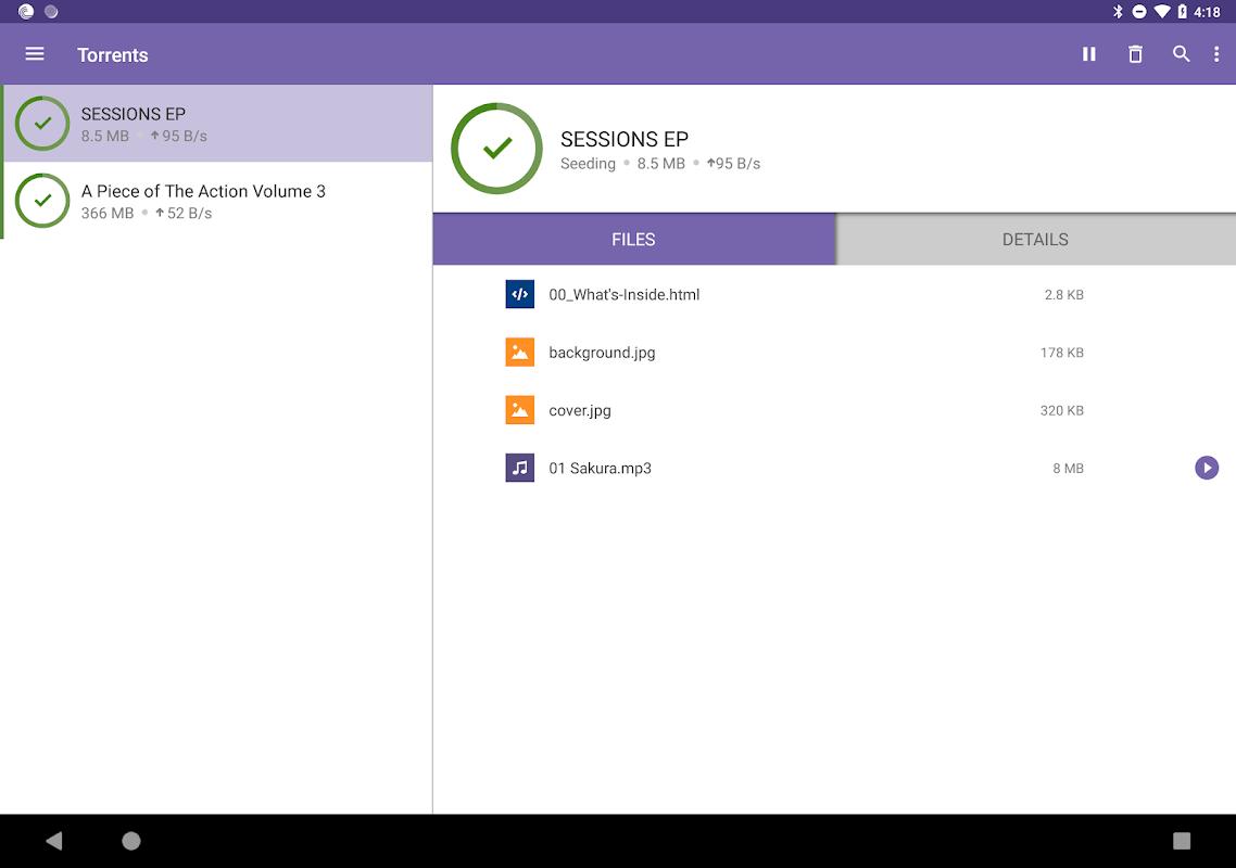 BitTorrent- Torrent Downloads 6.1.1 Screen 7