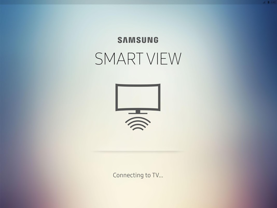 Samsung Smart View 2.1.0.103 Screen 1