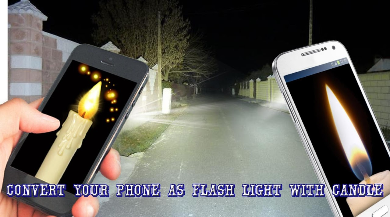 Android Candle FlashLight Screen 5