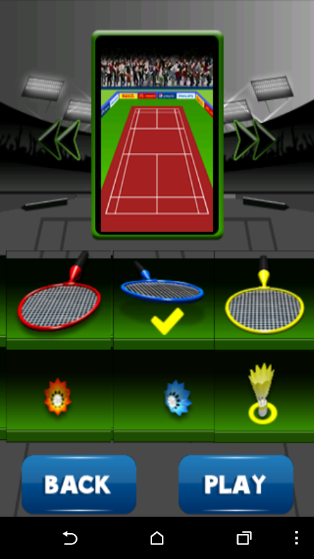 Android Badminton Champion Screen 18
