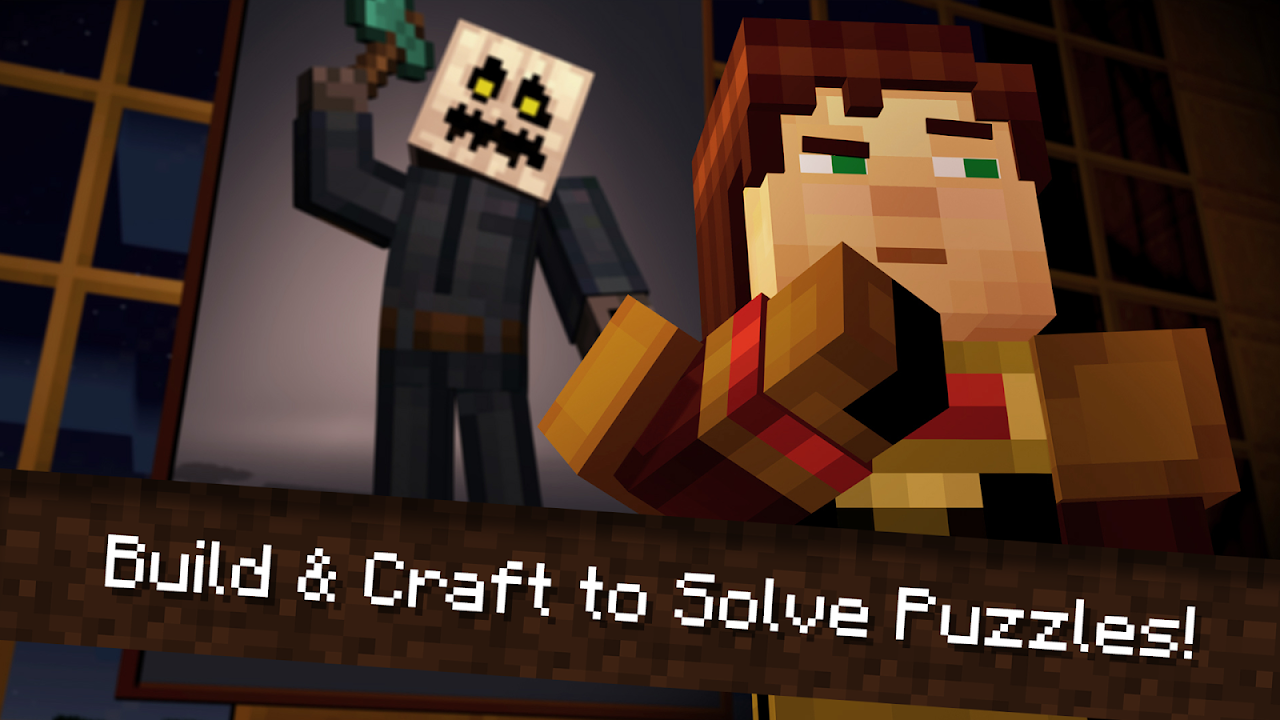 Android Minecraft: Story Mode Screen 5