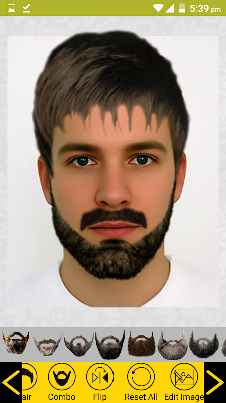 Add Hair Beard Mustache Styles 1.7 Screen 4