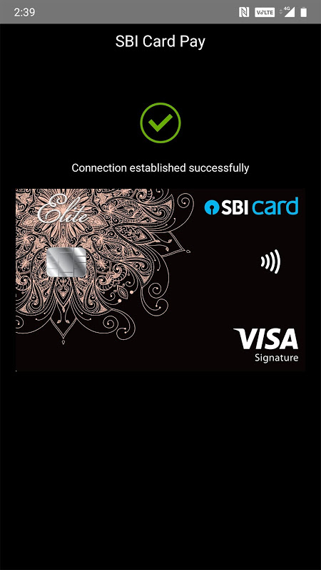 Android SBI Card Screen 6