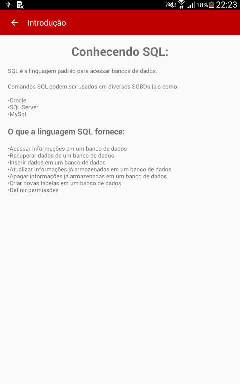 Guia SQL - Basico 1.1 Screen 1