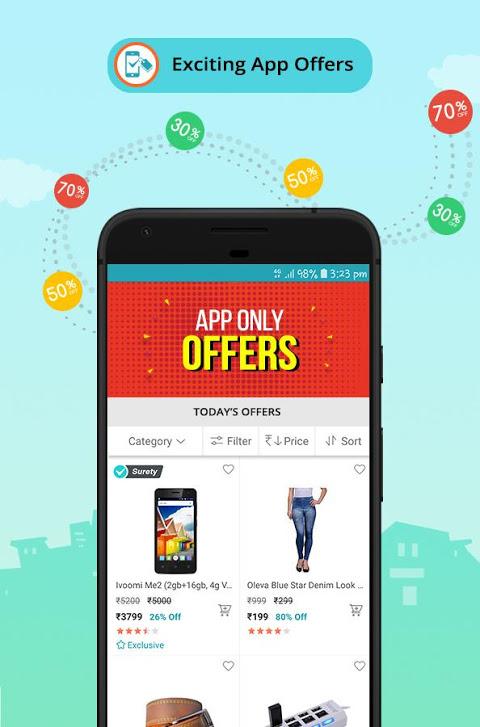 ShopClues: Online Shopping App 3.5.58 Screen 3