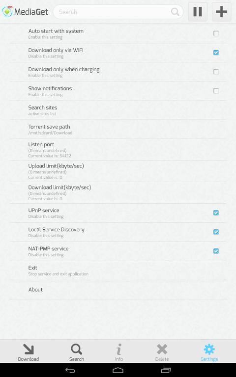 MediaGet 0.9.1 Screen 7