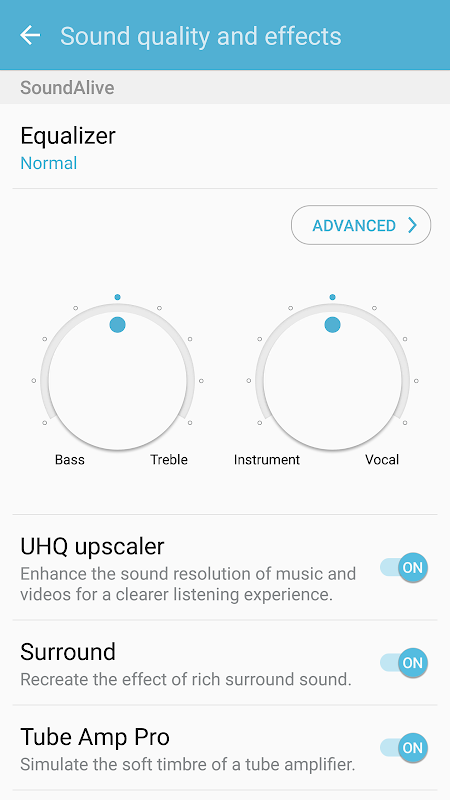 Android Samsung Music Screen 7