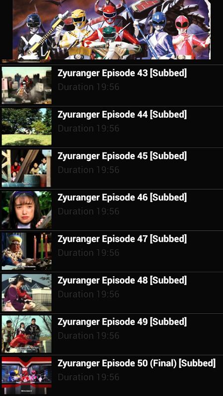 Kyoryu Sentai Zyuranger Tube APKs | Android APK