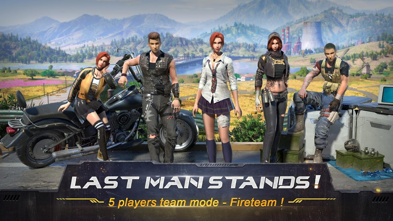 Android RULES OF SURVIVAL Screen 5