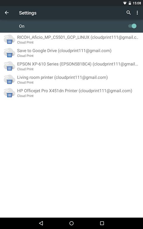 Cloud Print 1.42 Screen 10