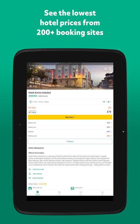 TripAdvisor Hotels Restaurants 32.2 Screen 15