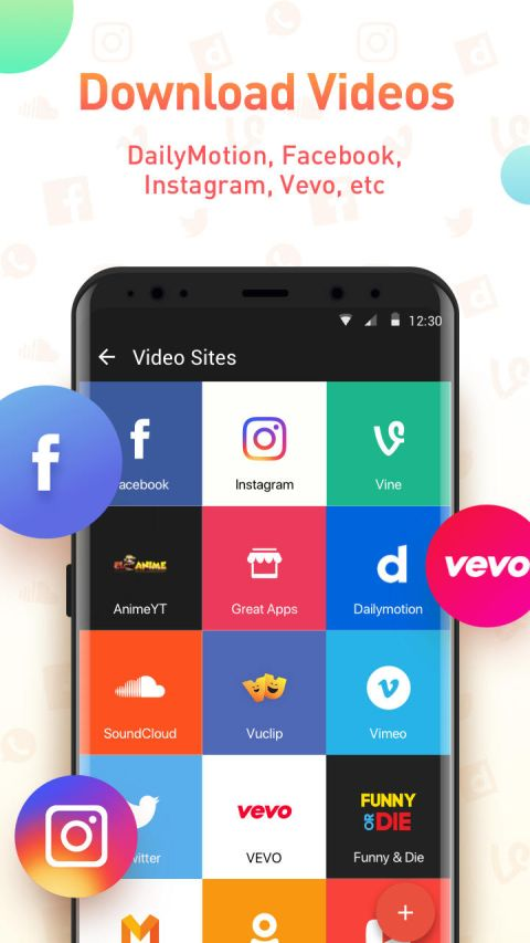 Youtube Video Downloader - SnapTube Pro 4.55.1.4551901 Screen 1