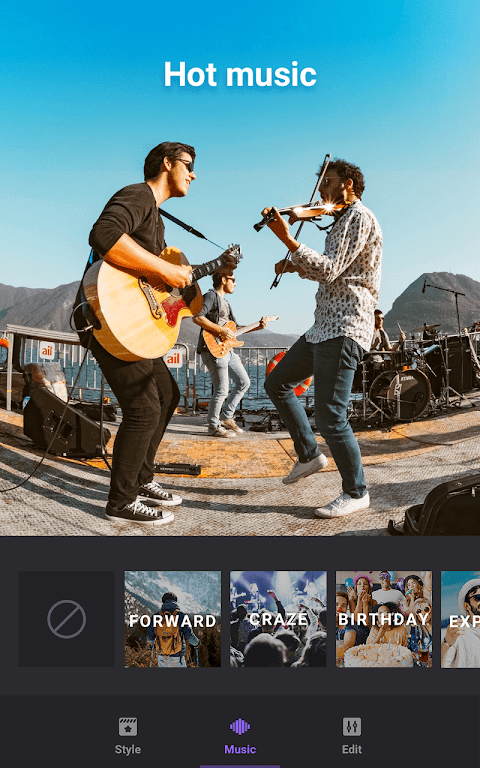 Video Maker of Photos with Music & Video Editor 2.2.2 cn Screen 4