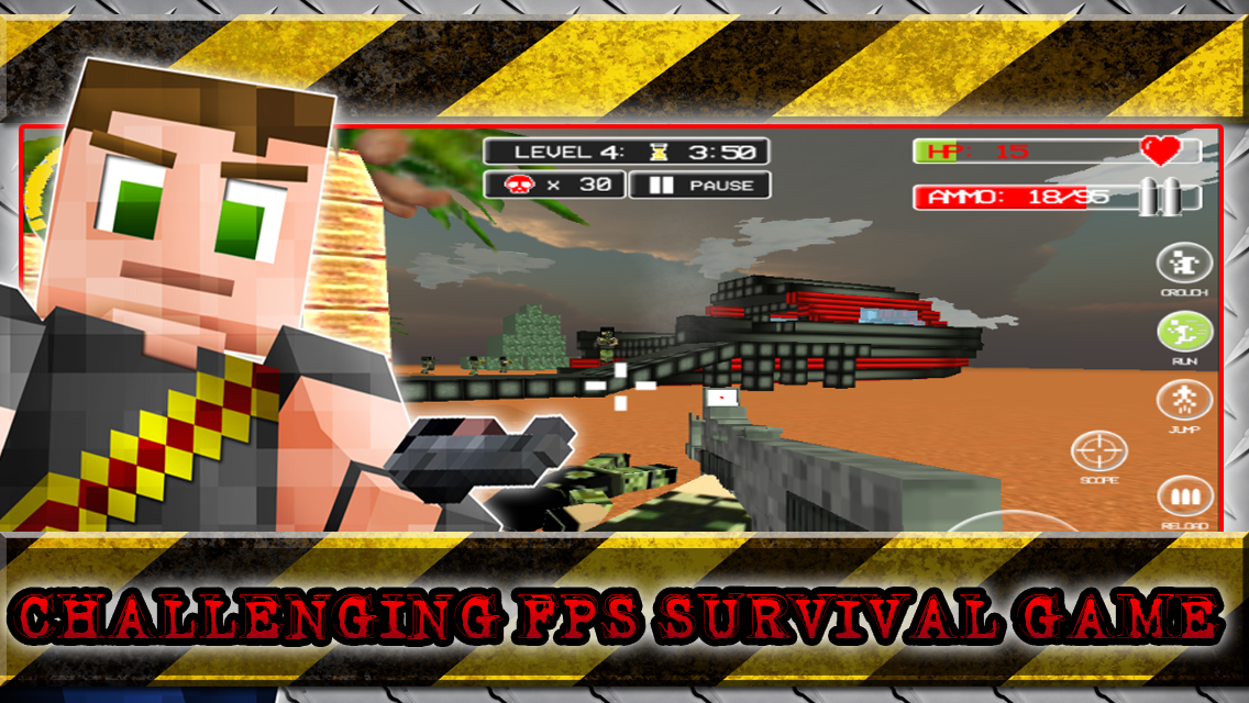 Android Hide N Seek Survival Craft Screen 3