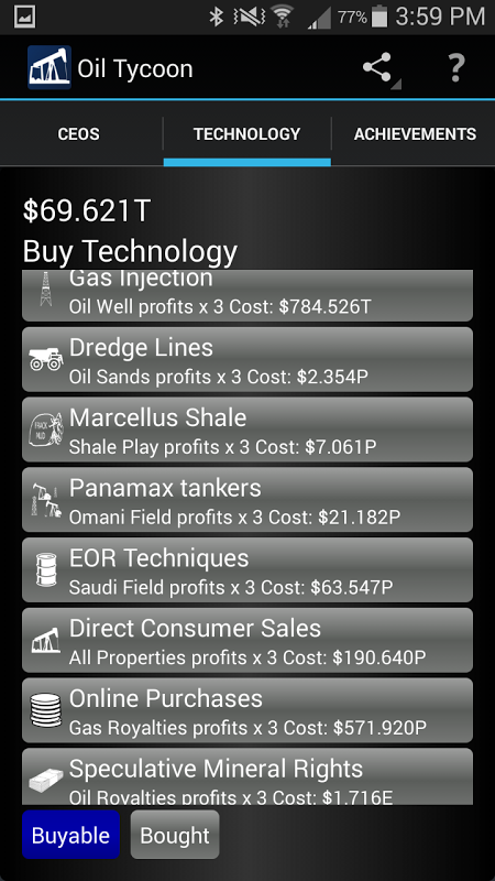 Android Idle Oil Tycoon Screen 9