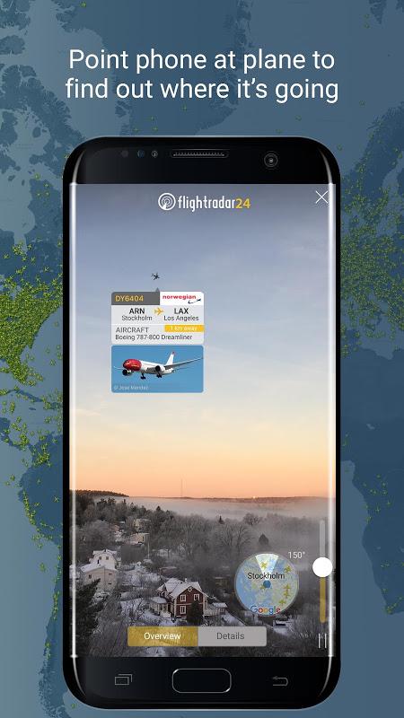 Android Flightradar24 Flight Tracker Screen 4