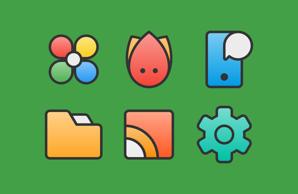 Android XIM - Icon Pack Screen 2