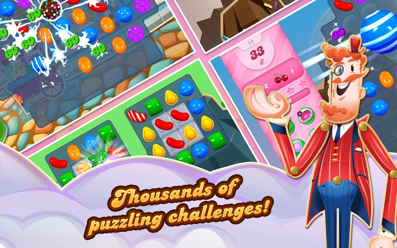 Android Candy Crush Saga Screen 11