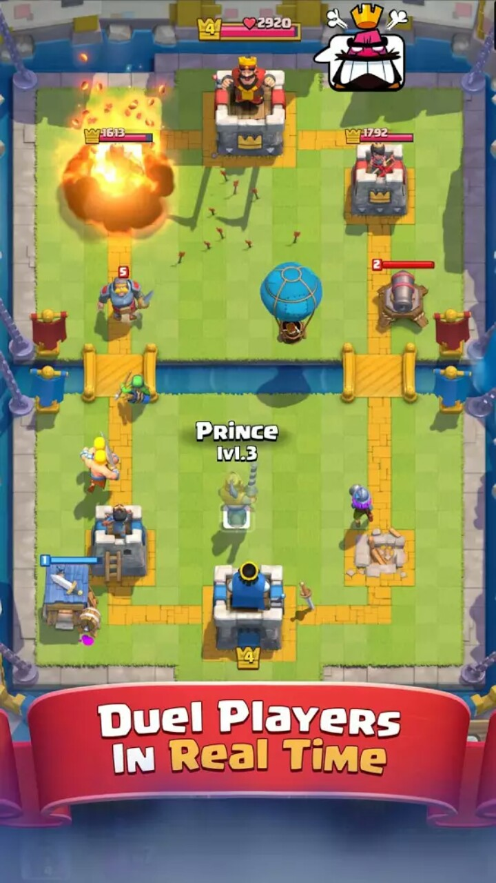 Clash Royale 1.8.6 Screen 1
