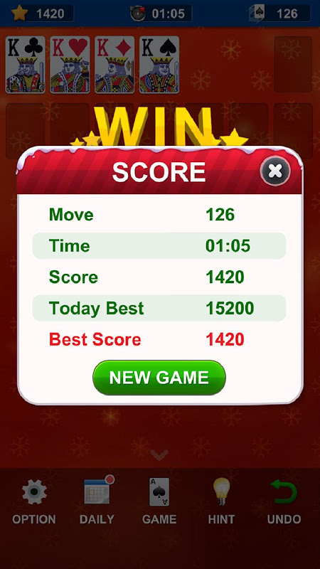 Solitaire 1.13.167 Screen 2