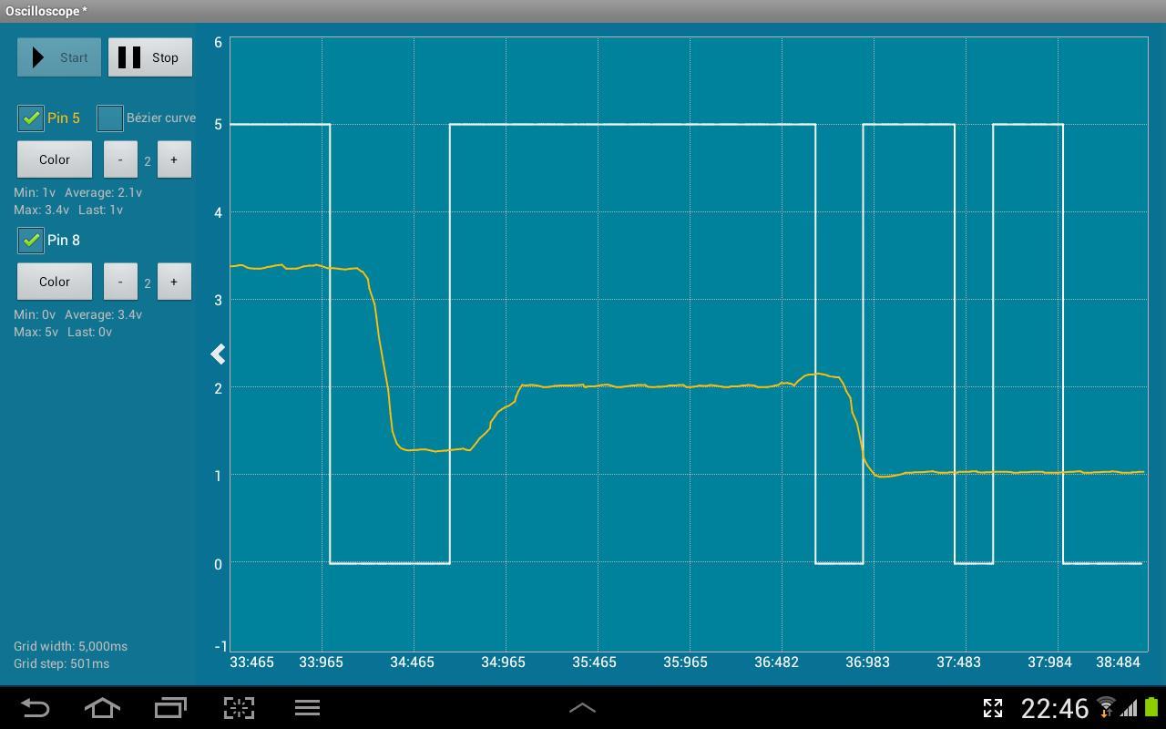 Android ArduinoCommander Screen 6