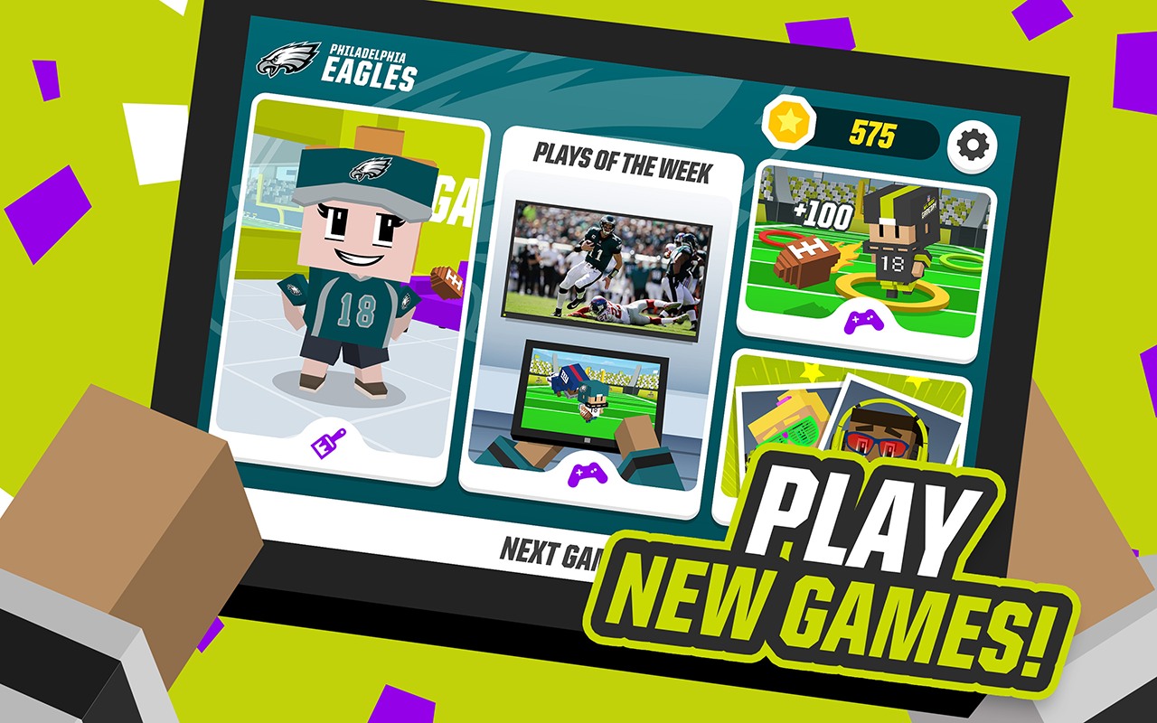 NFL RUSH Gameday 3.2.4 Screen 1