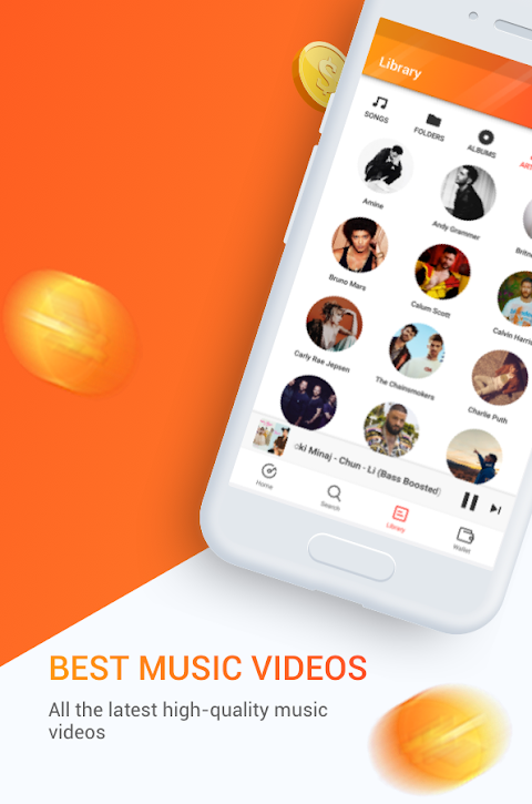 Android Marni Music - Free Music & Earn Real Money Screen 2