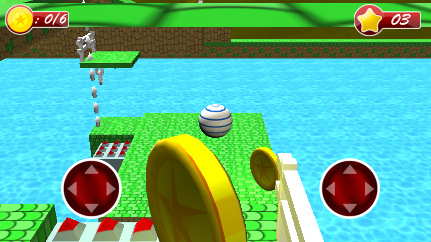 Android 3D Bouncing Ball Free Screen 4