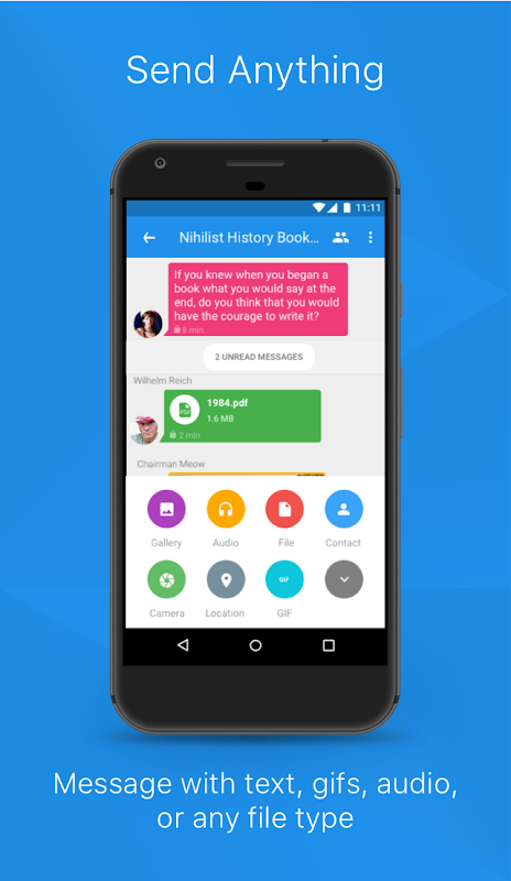 Android Signal Private Messenger Screen 3