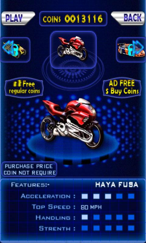 Android Extreme Moto Racing Screen 1