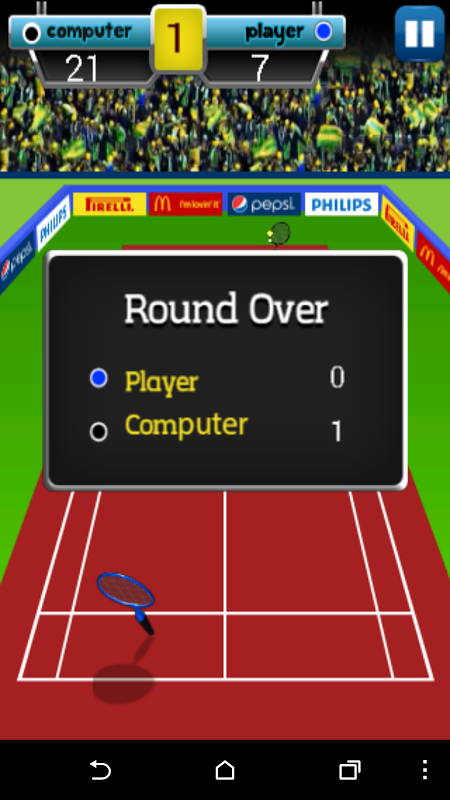 Android Badminton Champion Screen 22