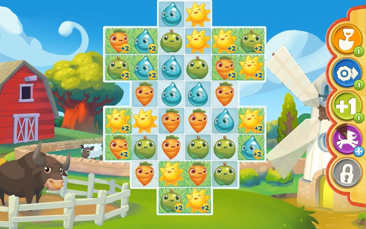 Farm Heroes Saga 5.17.4 Screen 1