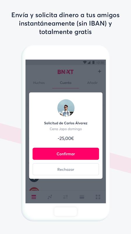 Bnext - La cuenta online sin bancos ni comisiones 1 0 5 APK