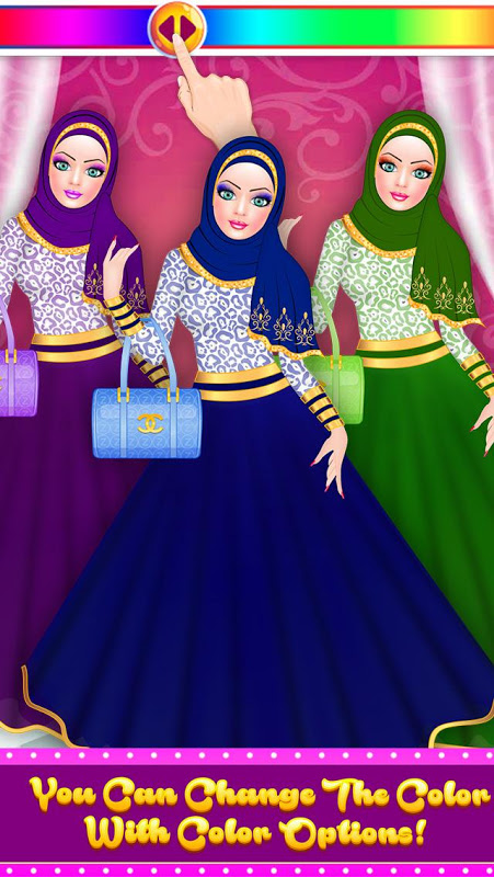 Hijab Fashion Doll Dress Up 1.2 Screen 14