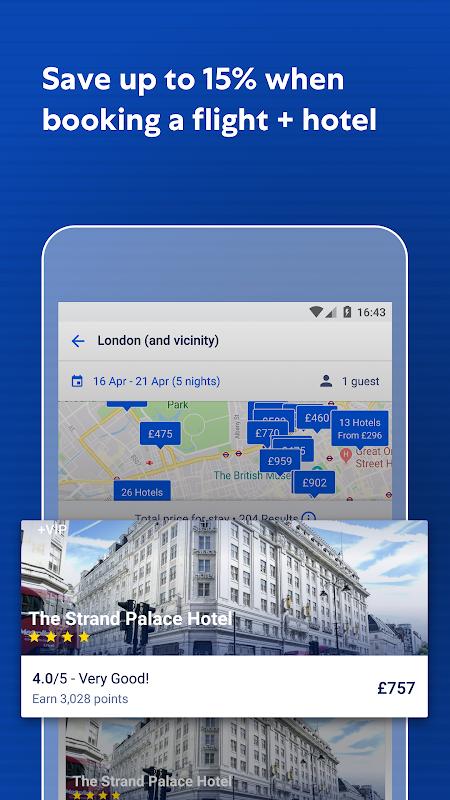 Expedia Hotels, Flights, Car Hires & Activities 19.7.1 Screen 2