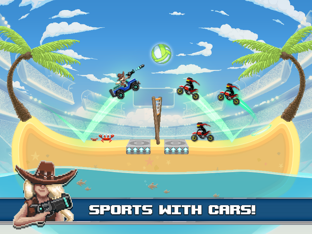Android Drive Ahead! Sports Screen 7