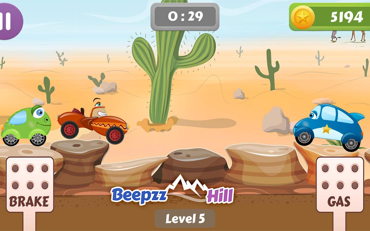 Beepzz Hill - racing game for kids 1.0.5 Screen 5