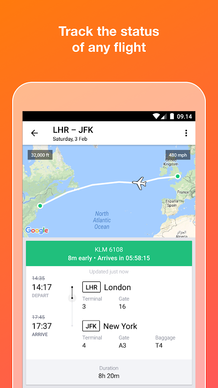 KAYAK flights, hotels & cars 73.1 Screen 4
